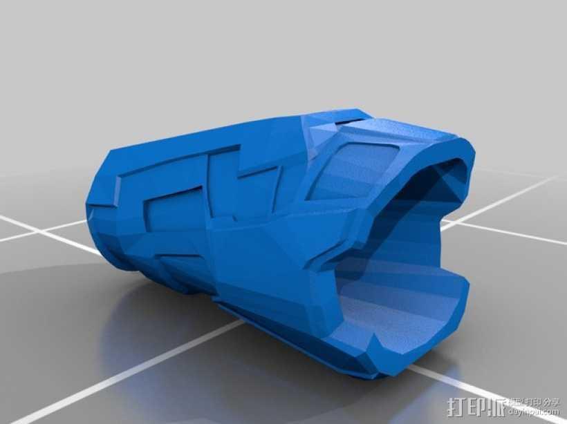 雷神之锤 盔甲 3D打印模型渲染图