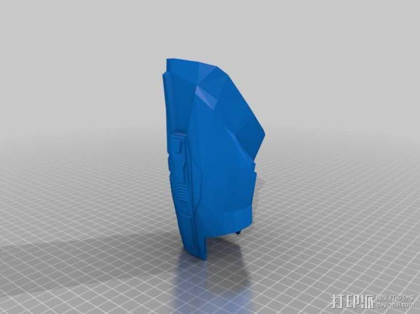 雷神之锤 盔甲 护腿 3D打印模型渲染图