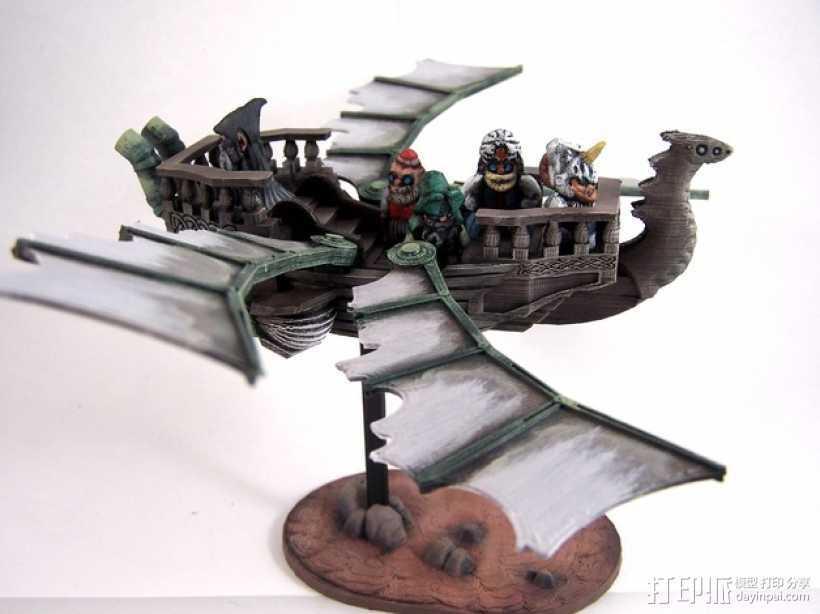 风之龙和矮人精灵 3D打印模型渲染图