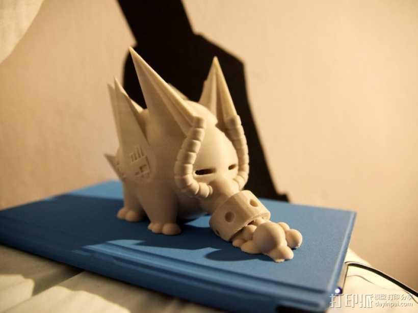 史诺克吸糖机 3D打印模型渲染图