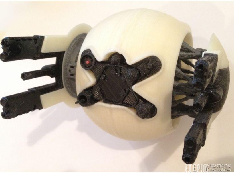 守卫者号无人机 3D打印模型渲染图