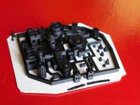 临冬城城堡模型