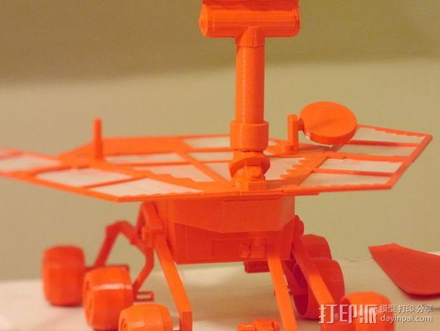 机遇号火星探测器 3D打印模型渲染图