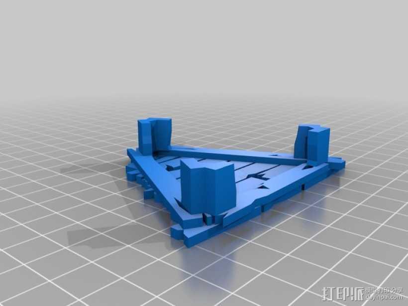 野蛮人的瞭望塔 3D打印模型渲染图