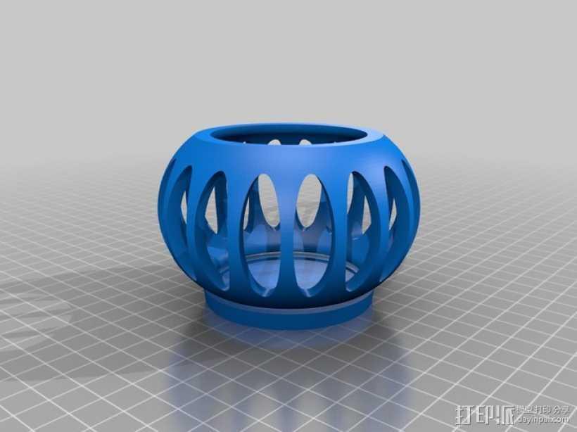 魔鬼瓶 3D打印模型渲染图