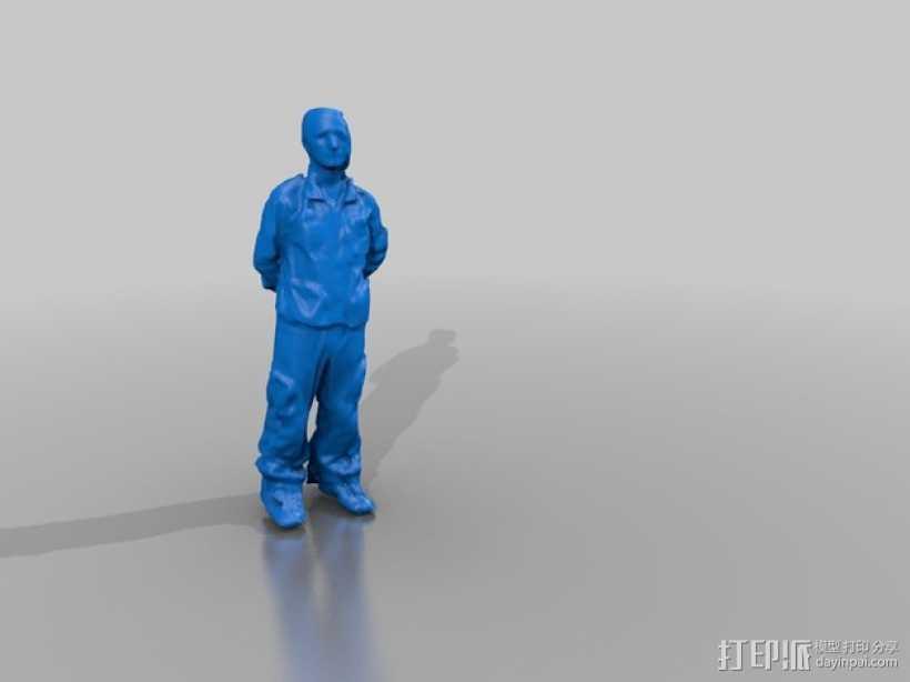 医生雕塑 3D打印模型渲染图