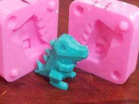 Totodile 小锯鳄模具