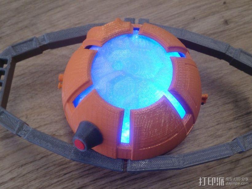 变形金刚汽车人车灯 3D打印模型渲染图