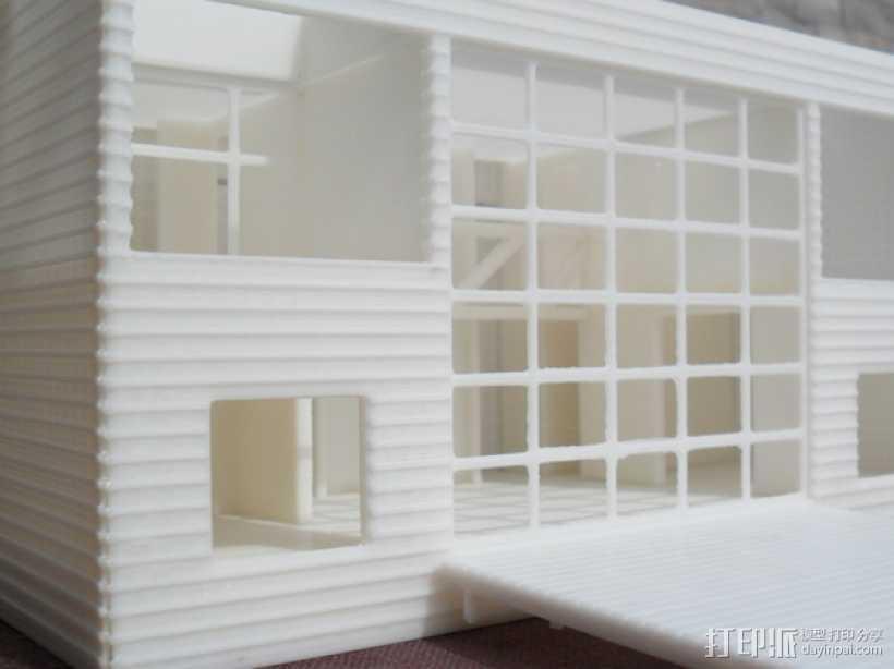 Casa Klotz建筑模型 3D打印模型渲染图