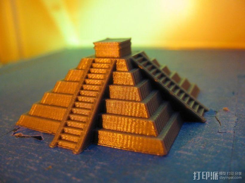 奇琴伊察塔 3D打印模型渲染图