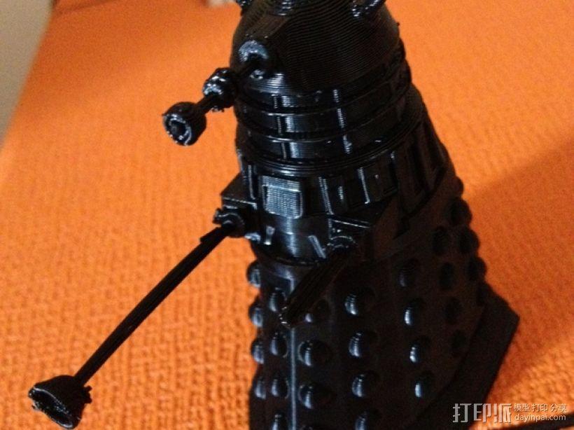 Dalek 戴立克机器人 3D打印模型渲染图