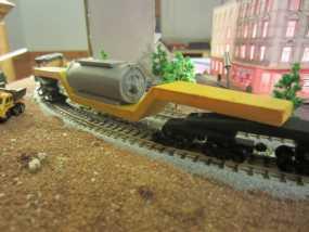 凹式平板火车