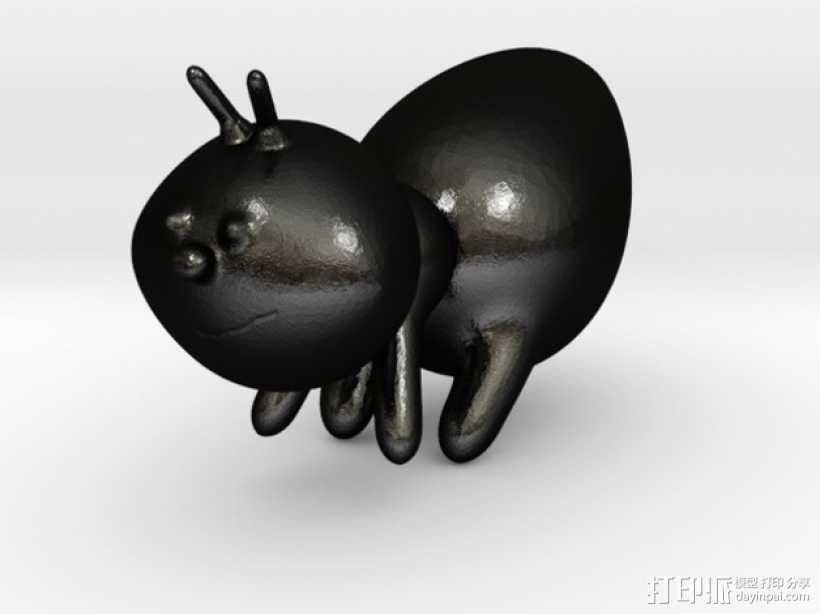 蚂蚁 3D打印模型渲染图