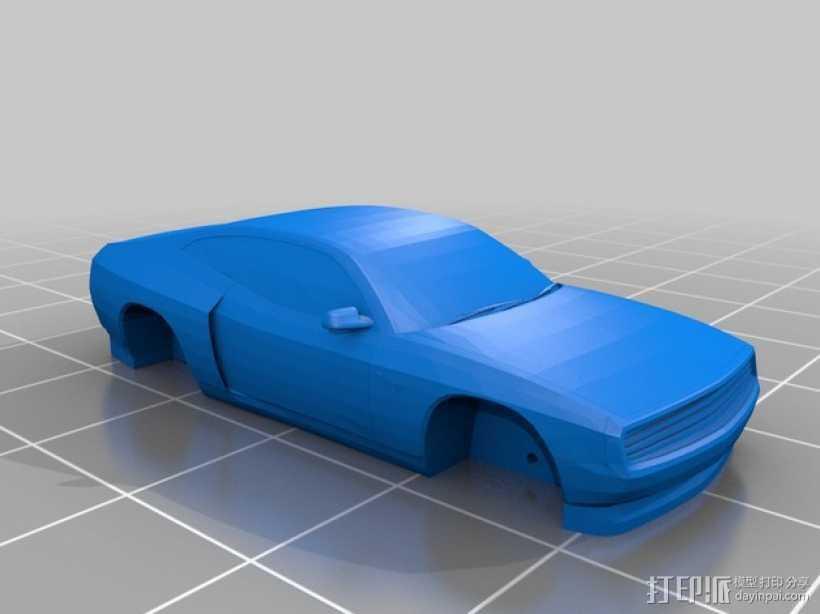 Rogue Falcon汽车 3D打印模型渲染图