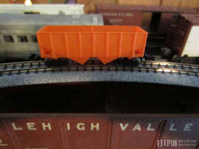 漏斗车 3D打印模型渲染图