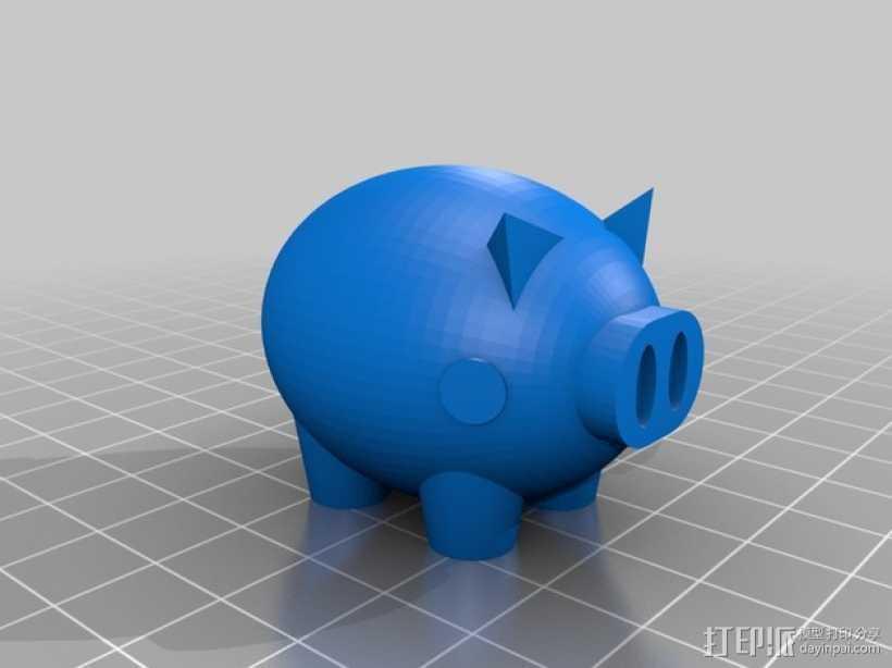 Puerco小猪 3D打印模型渲染图