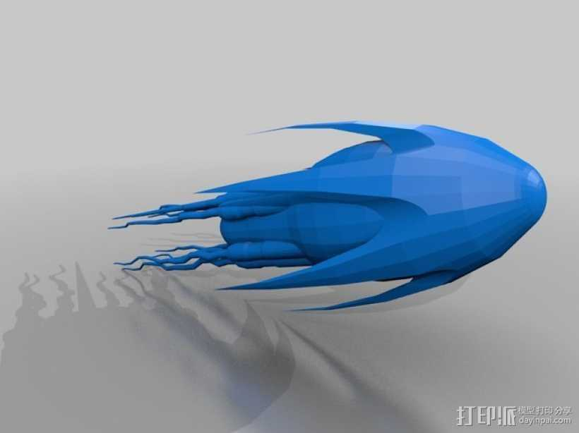 无人驾驶飞机  3D打印模型渲染图