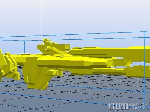 Paris Class护卫舰  3D打印模型渲染图