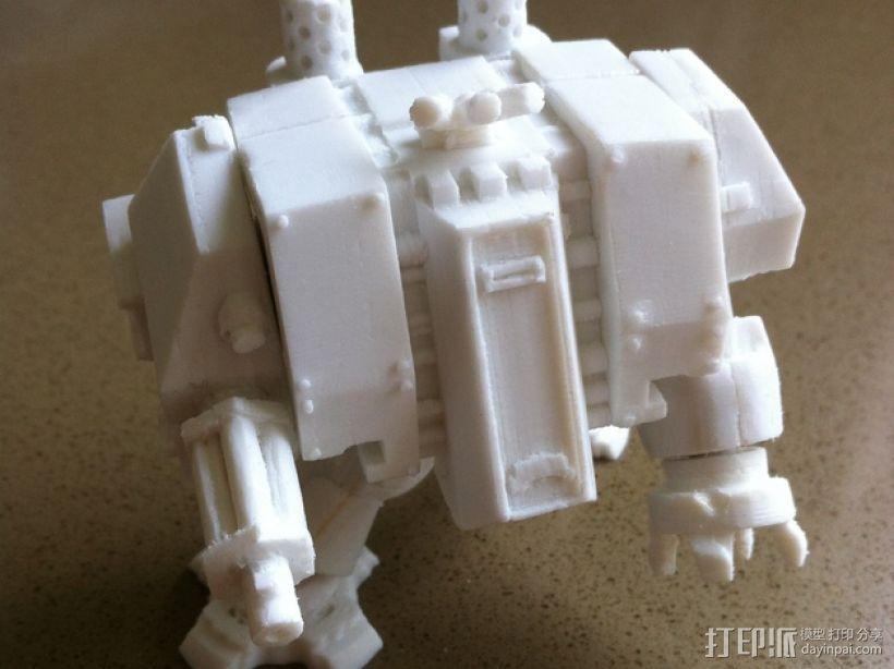 烟榴弹发射器 3D打印模型渲染图