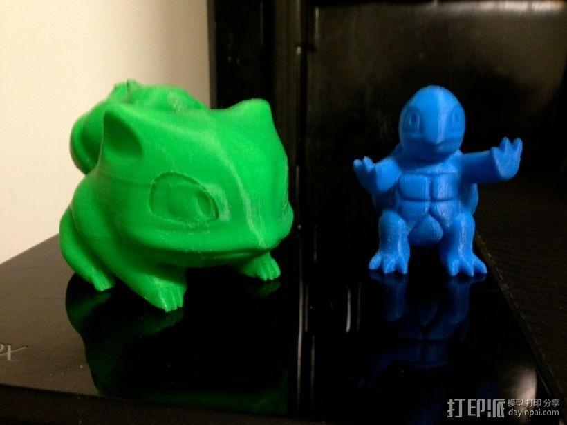 妙蛙种子 3D打印模型渲染图