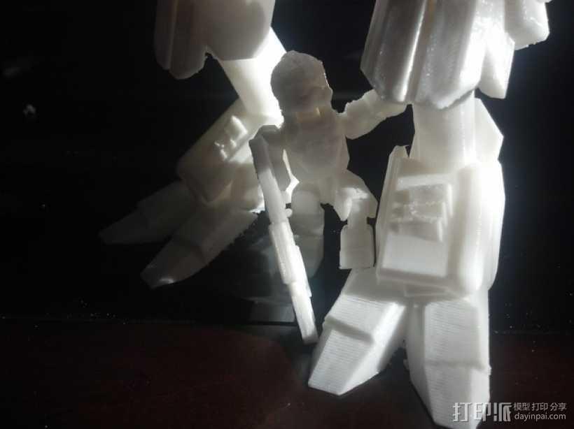泰坦陨落 飞行员  3D打印模型渲染图