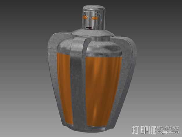 超能力质子 生化奇兵 3D打印模型渲染图