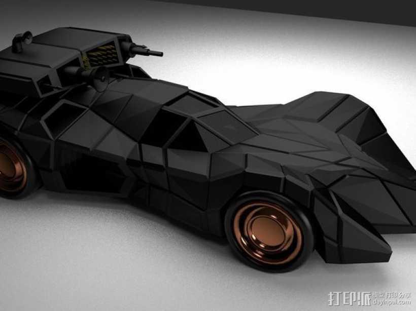 装甲蝙蝠车 3D打印模型渲染图