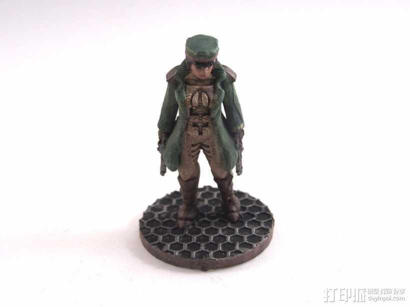 贝克船长模型 3D打印模型渲染图