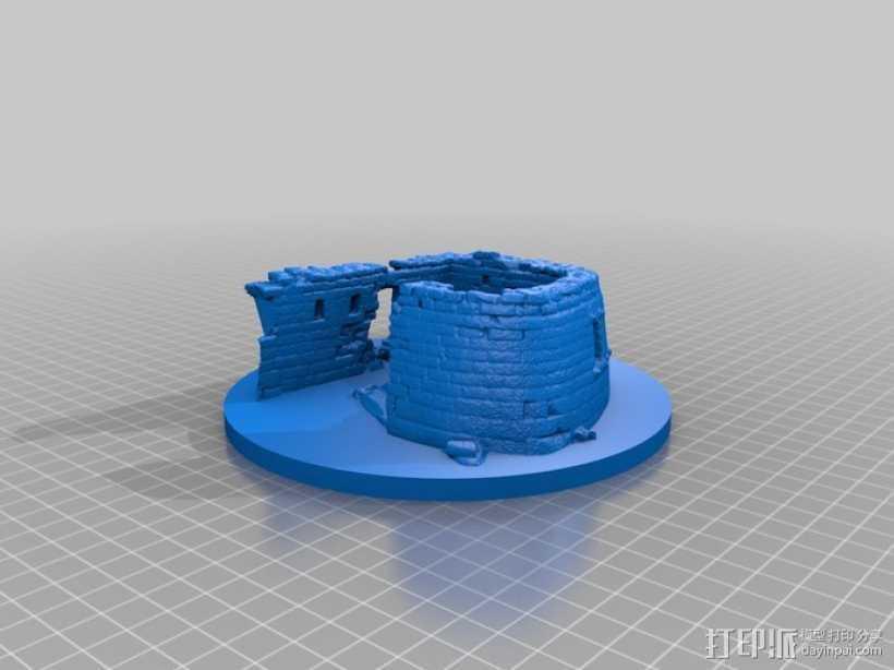 马丘比丘遗址 3D打印模型渲染图