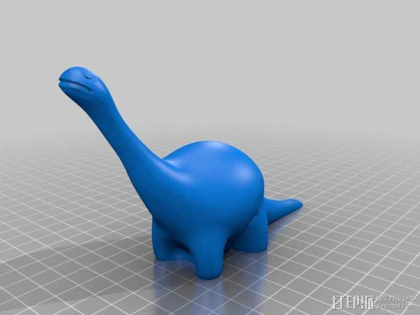 雷龙 3D打印模型渲染图