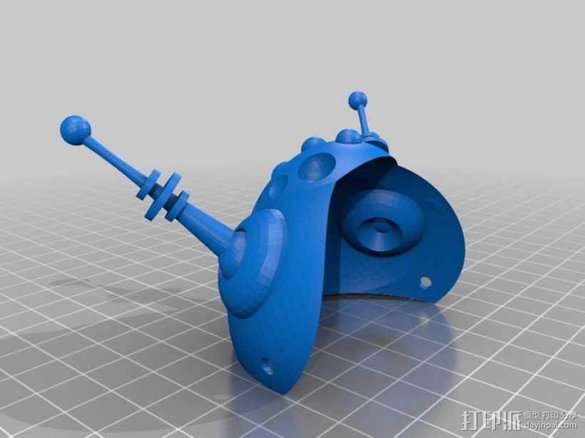 太空猫头盔 3D打印模型渲染图