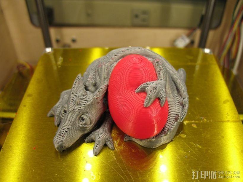 口袋妖怪迷你龙 3D打印模型渲染图