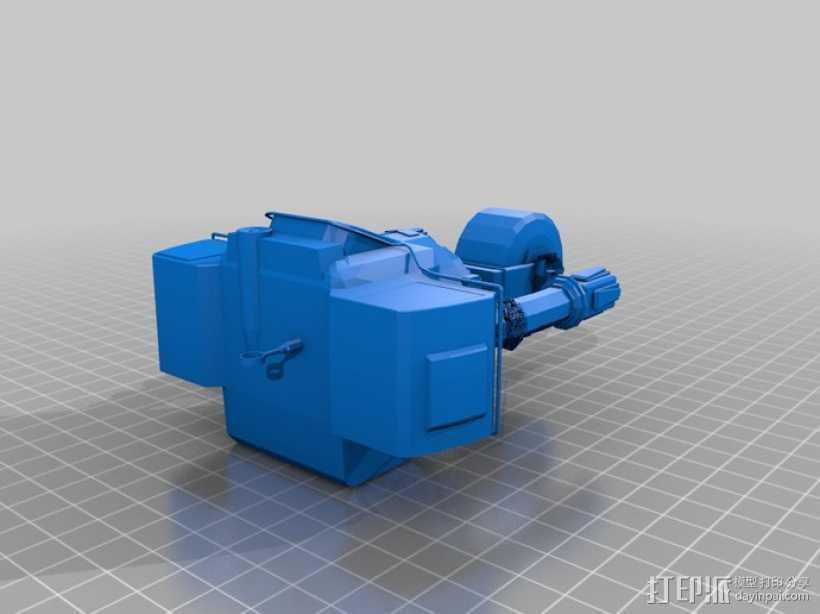 新维加斯机器人 3D打印模型渲染图