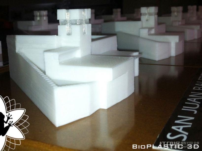 大加纳利岛教堂 3D打印模型渲染图