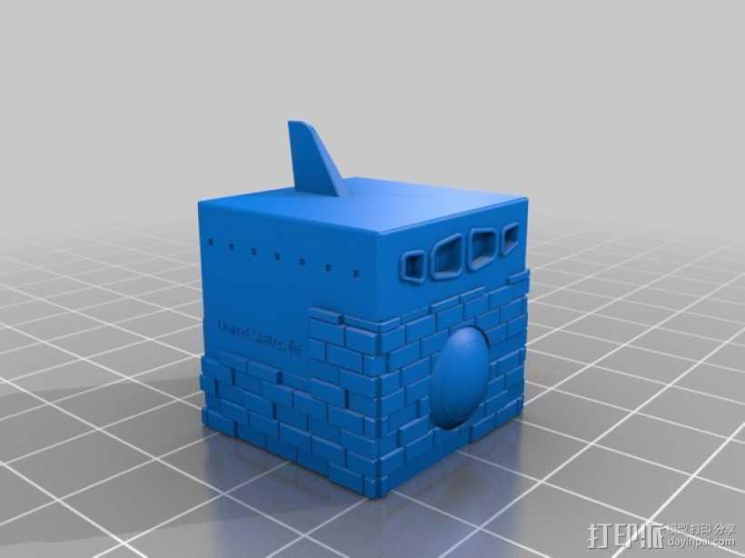 航天飞机 太空穿梭机 3D打印模型渲染图