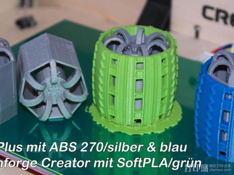 火星漫游车 3D打印模型渲染图