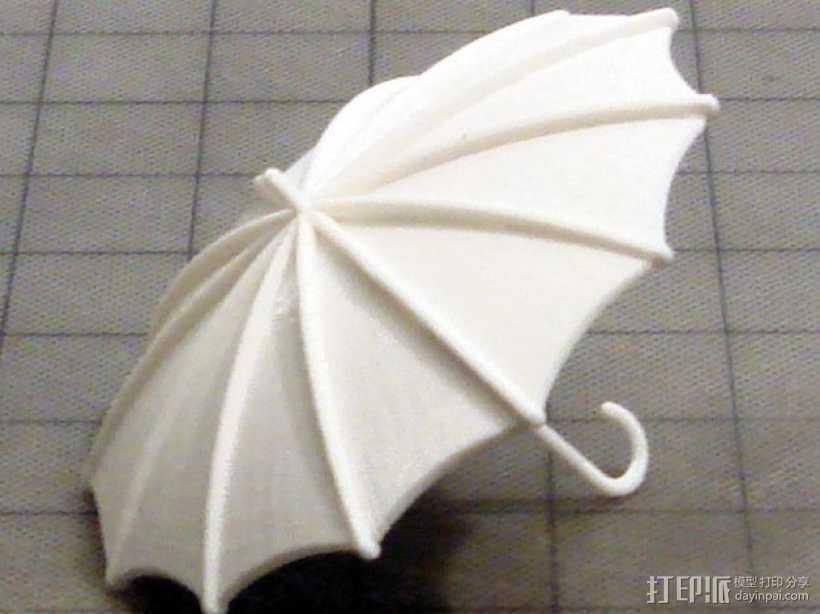 雨伞  3D打印模型渲染图