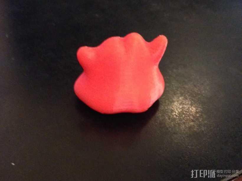 口袋妖怪 百变怪 3D打印模型渲染图
