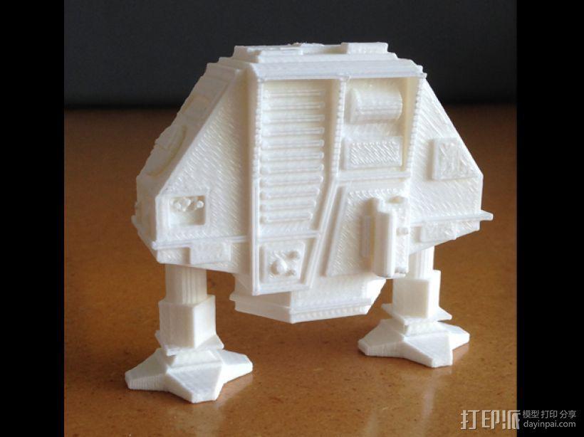 Dewey机器人  3D打印模型渲染图