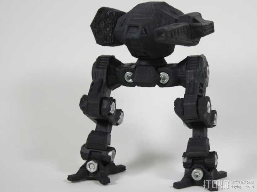 苍鹰机器人 3D打印模型渲染图