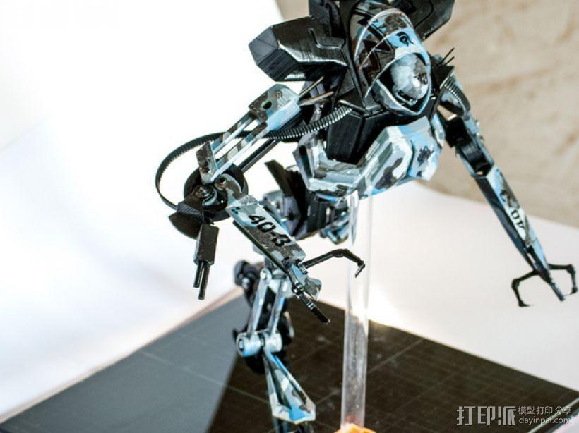 Seeders机器人 3D打印模型渲染图