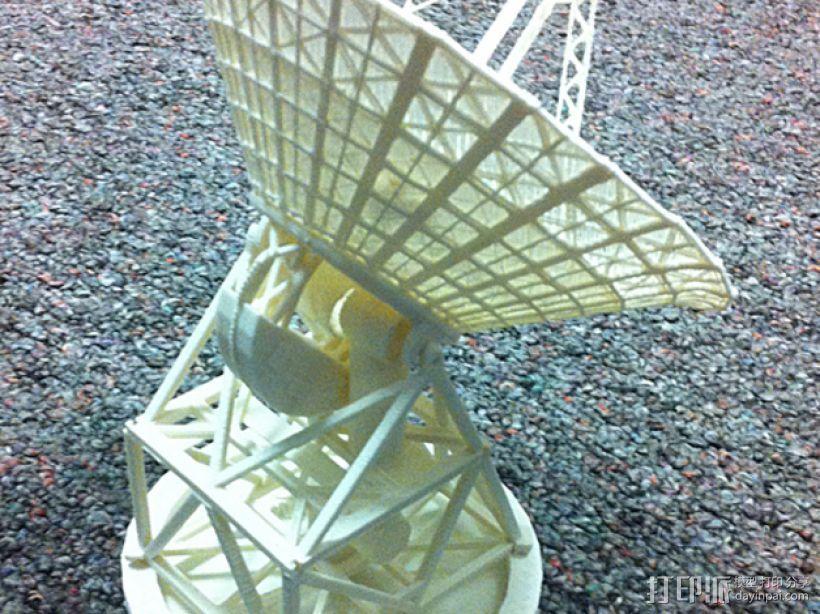 卫星接收器 3D打印模型渲染图