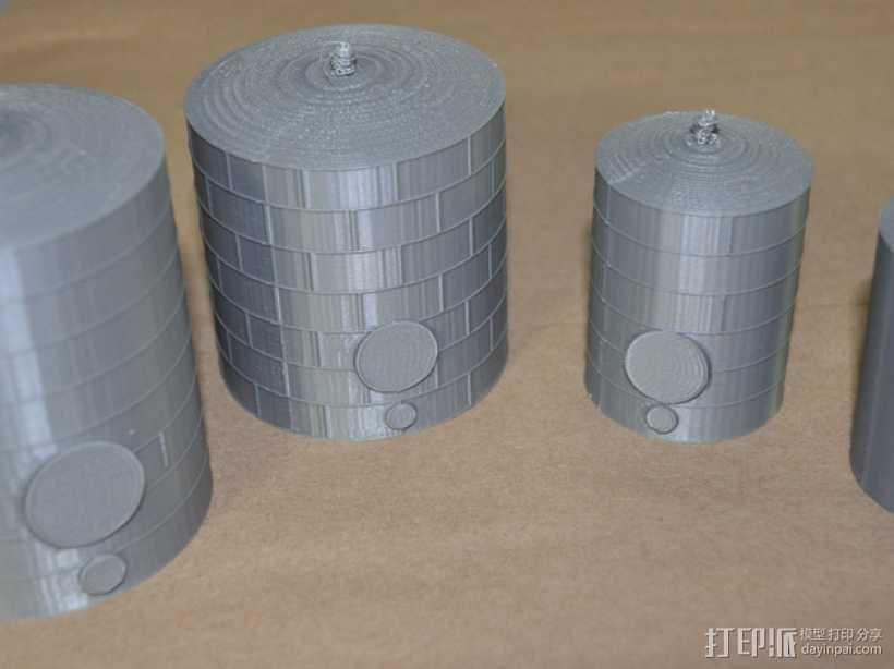 储油罐 3D打印模型渲染图