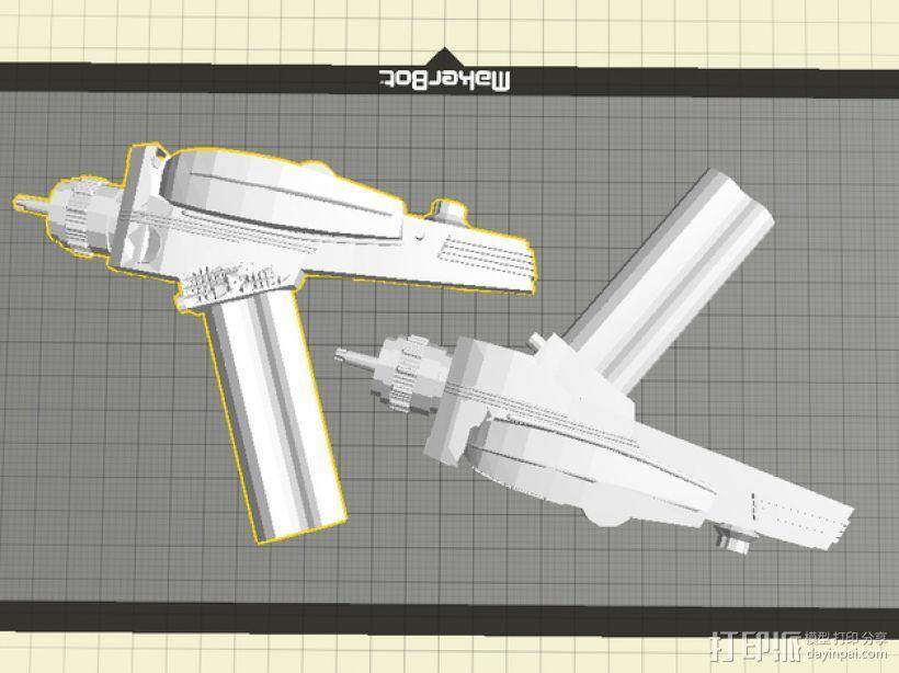 激光标线器 3D打印模型渲染图
