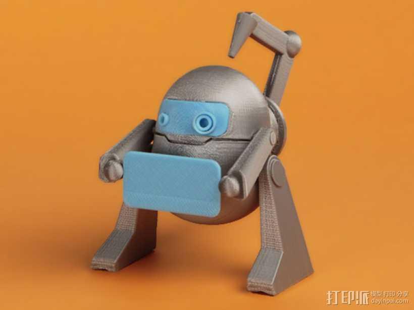 机器人 LEO 3D打印模型渲染图