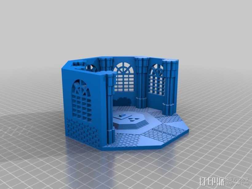 塞尔达传说剑室 3D打印模型渲染图