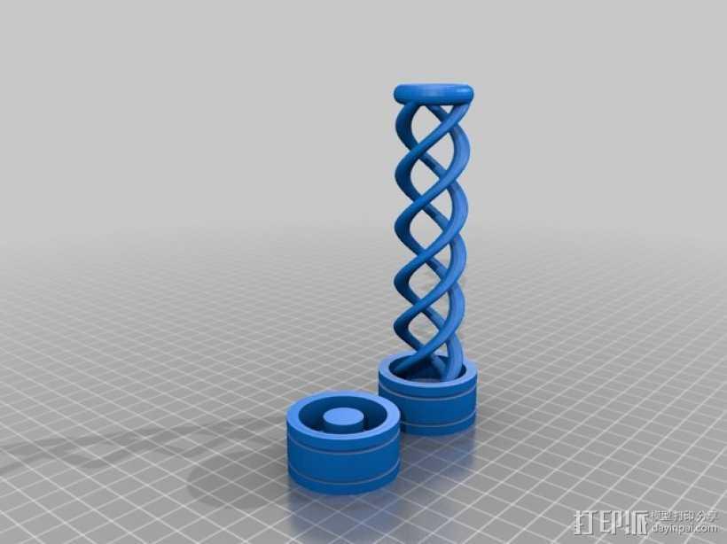 生化危机 病毒模型 3D打印模型渲染图