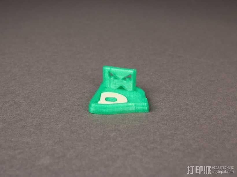 波士顿红袜队绿怪物 3D打印模型渲染图