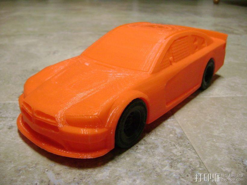 Charger赛车模型 3D打印模型渲染图