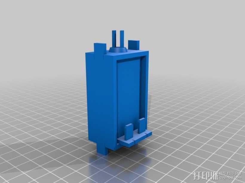 传导器 3D打印模型渲染图